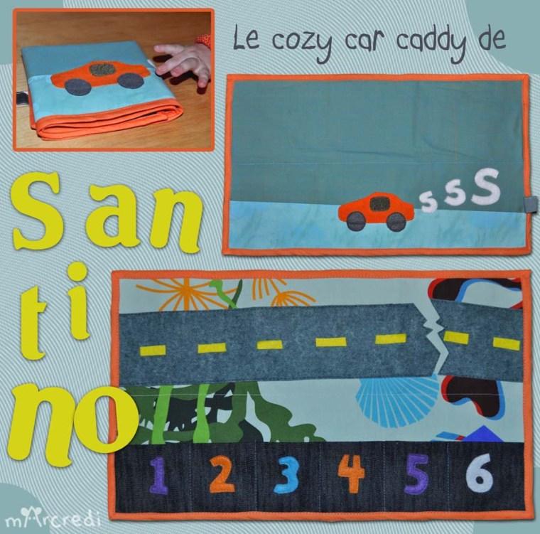 cosy car bleu blog