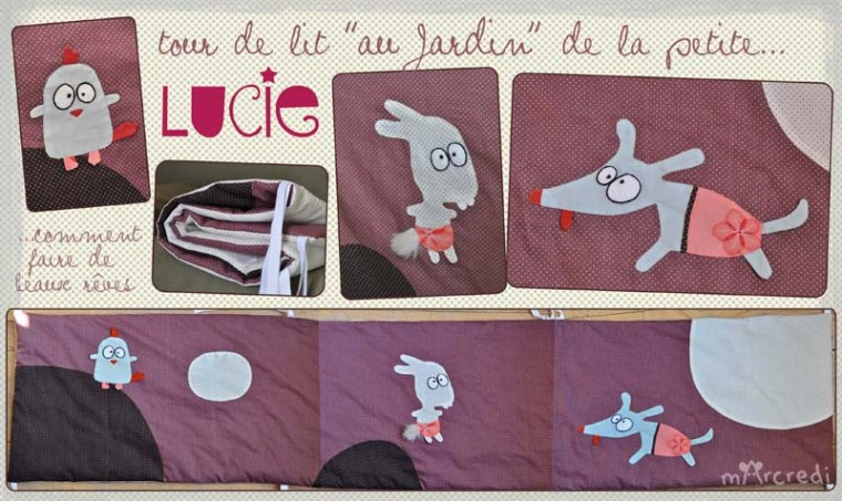 tour de lit lucie blog