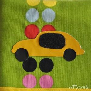 cosy car green car