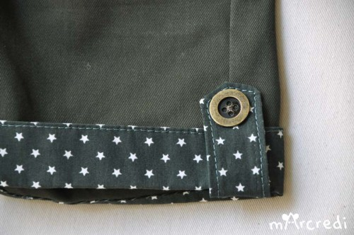 short stars hem