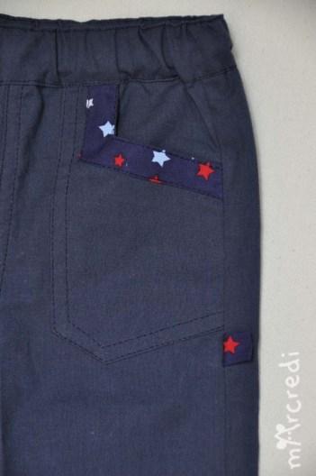 star pants front pckt