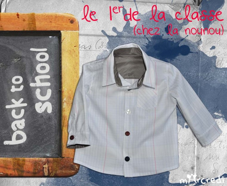chemise ecolier