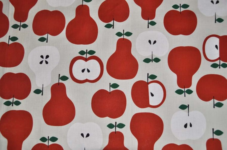 cape bain pomme fabric