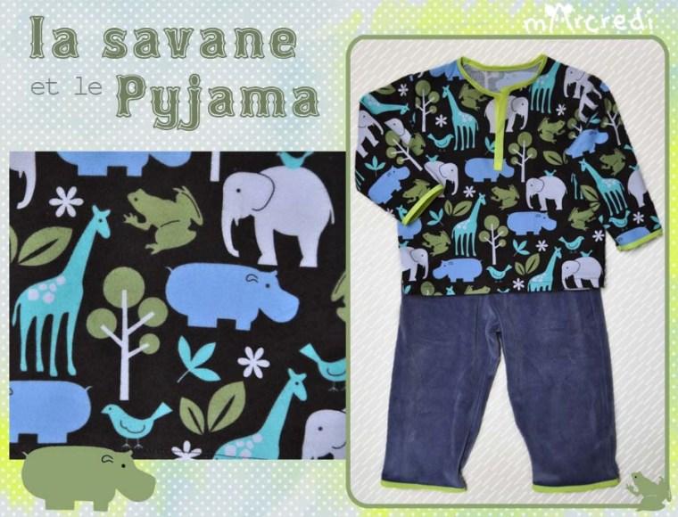 pyjama savane