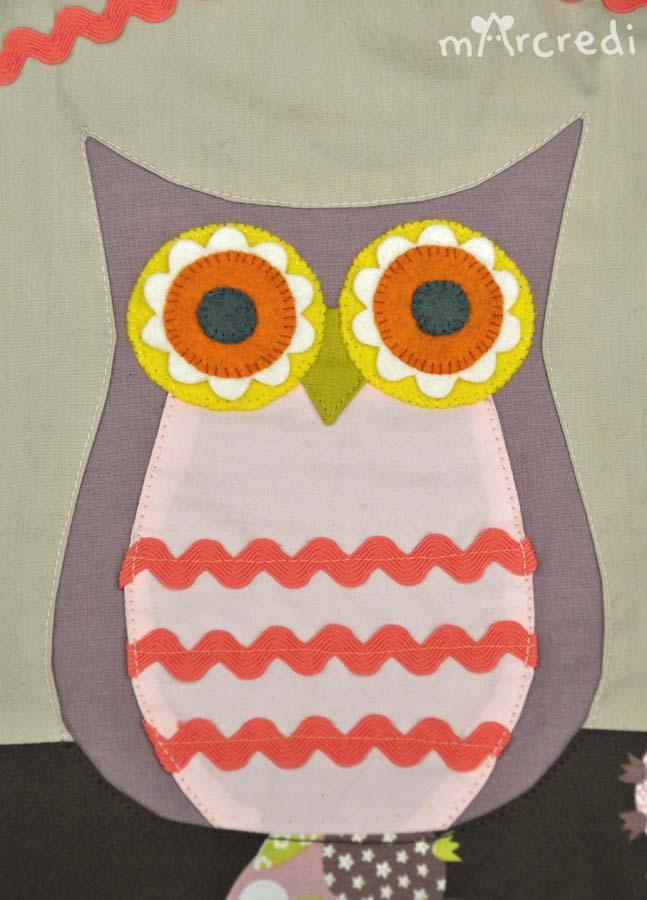tour de lit chouette big owl