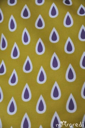 coussin pluie tissu