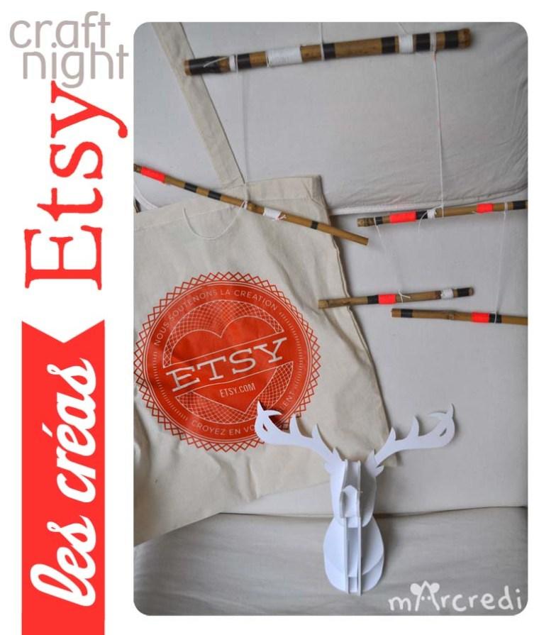 craft night etsy