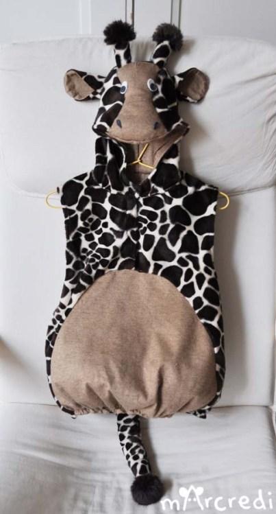 costume girafe front