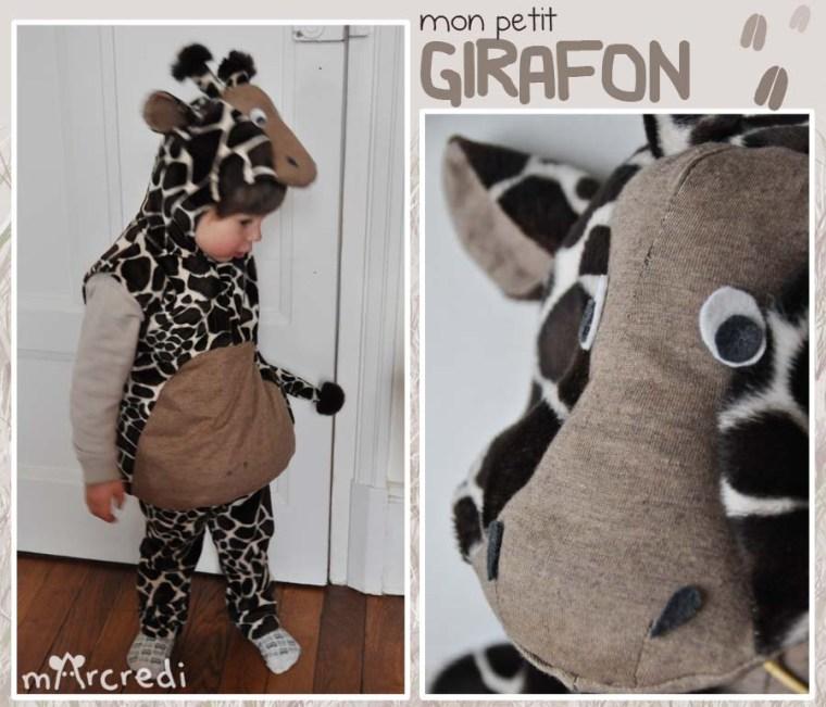 costume girafe