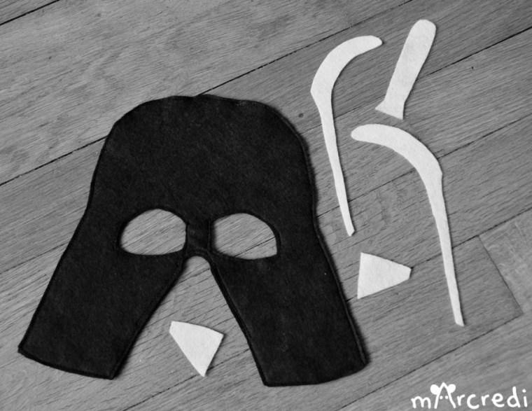 masque dark vador bw