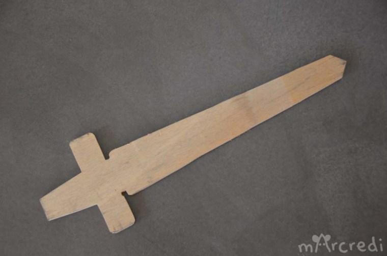 épée bois E9