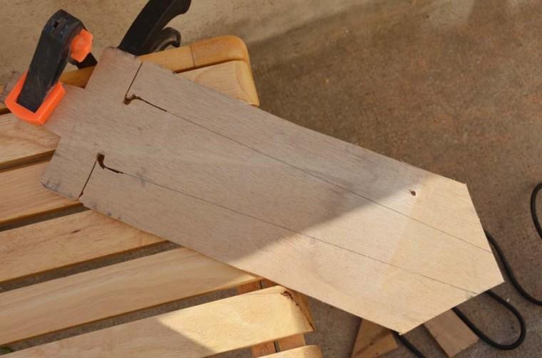 épée bois E7