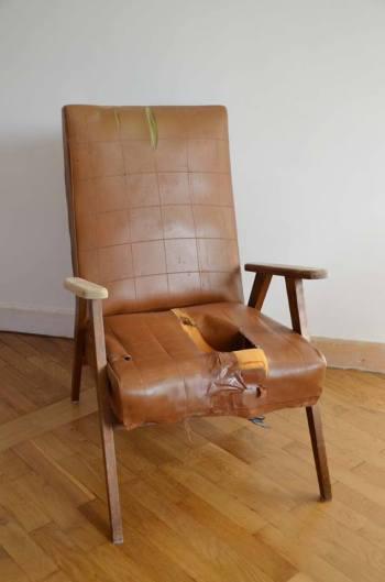 fauteuil vintage avant