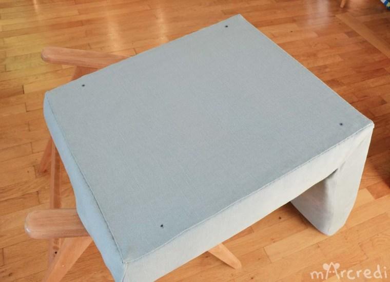 fauteuil vintage dessous