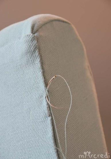 fauteuil vintage needle