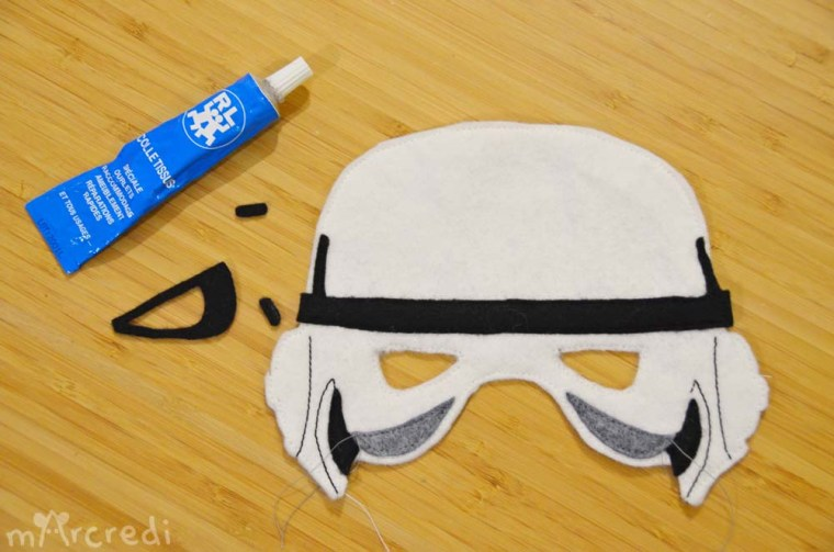 stormtrooper mask glue