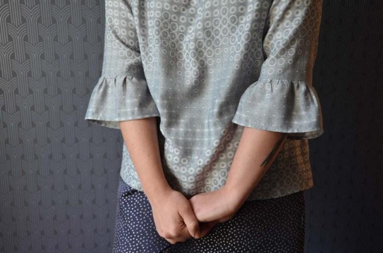 blouse stockholm basques