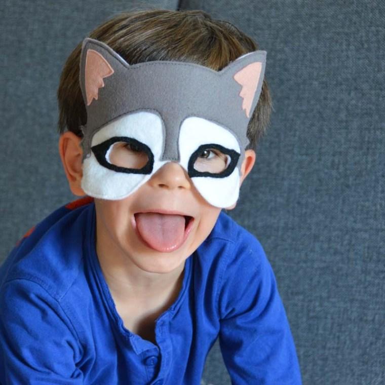 masque chien husky