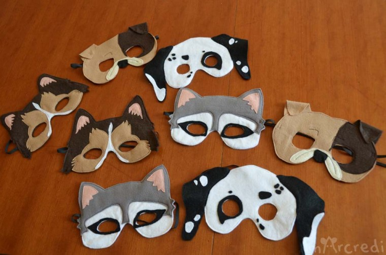 masque dalmatien bulldog colley husky