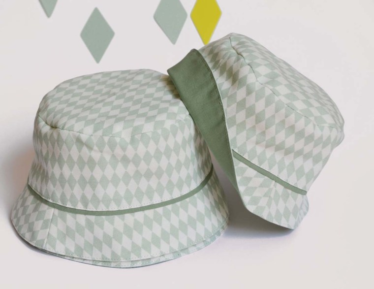 chapeau losange twins