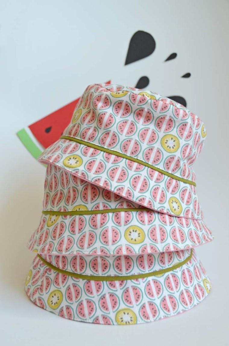 chapeau pastèque trio