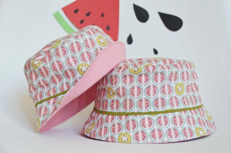 chapeau pastèque