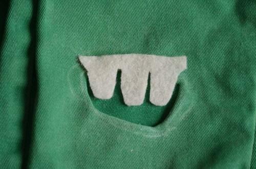 pantalon monstre dents