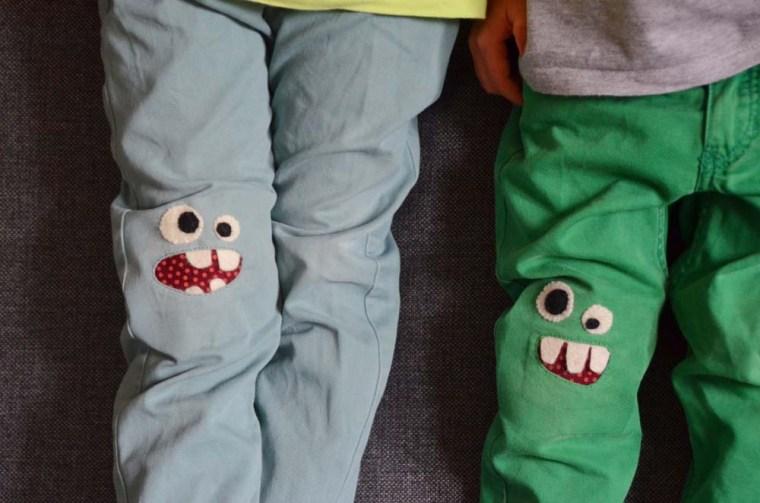 pantalon monstre