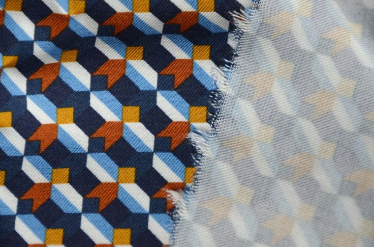 tissu marché des charpennes twill