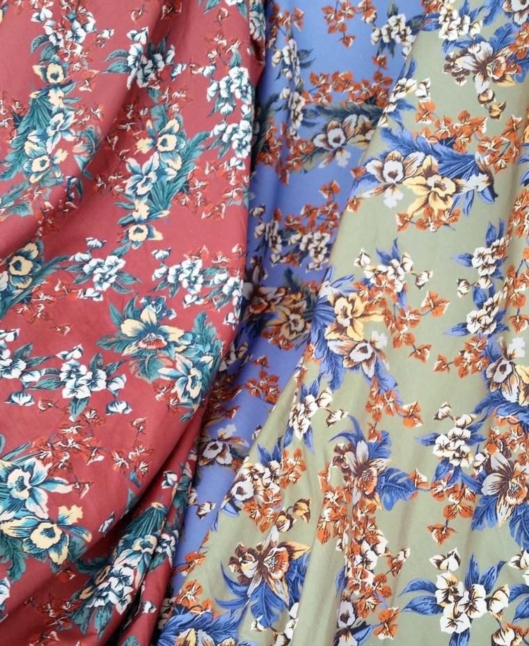 tissu-coton-fleuri-plage-lyon