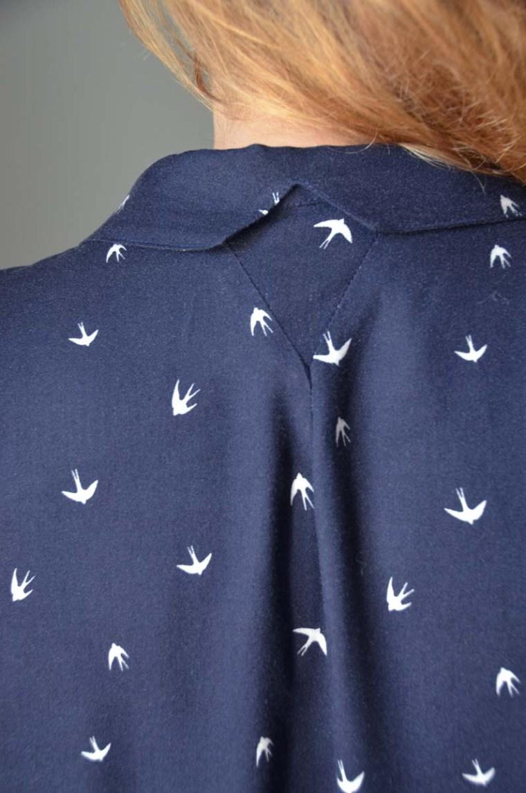 blouse parisette dos hirondelles