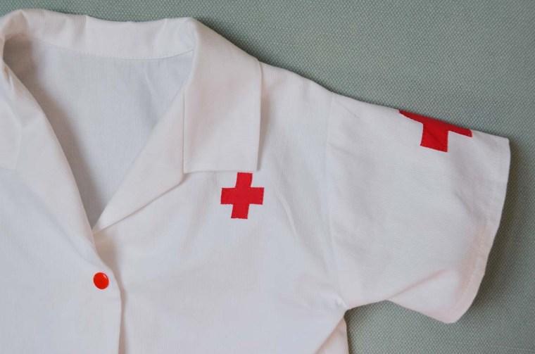 deguisement blouse docteur finitions